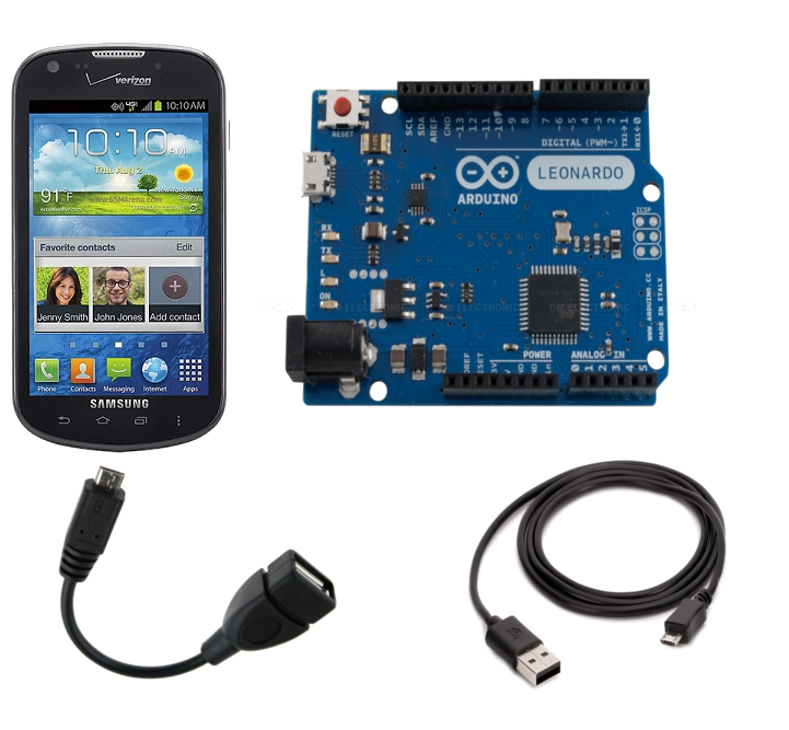Controlling an arduino from android phone or tablet