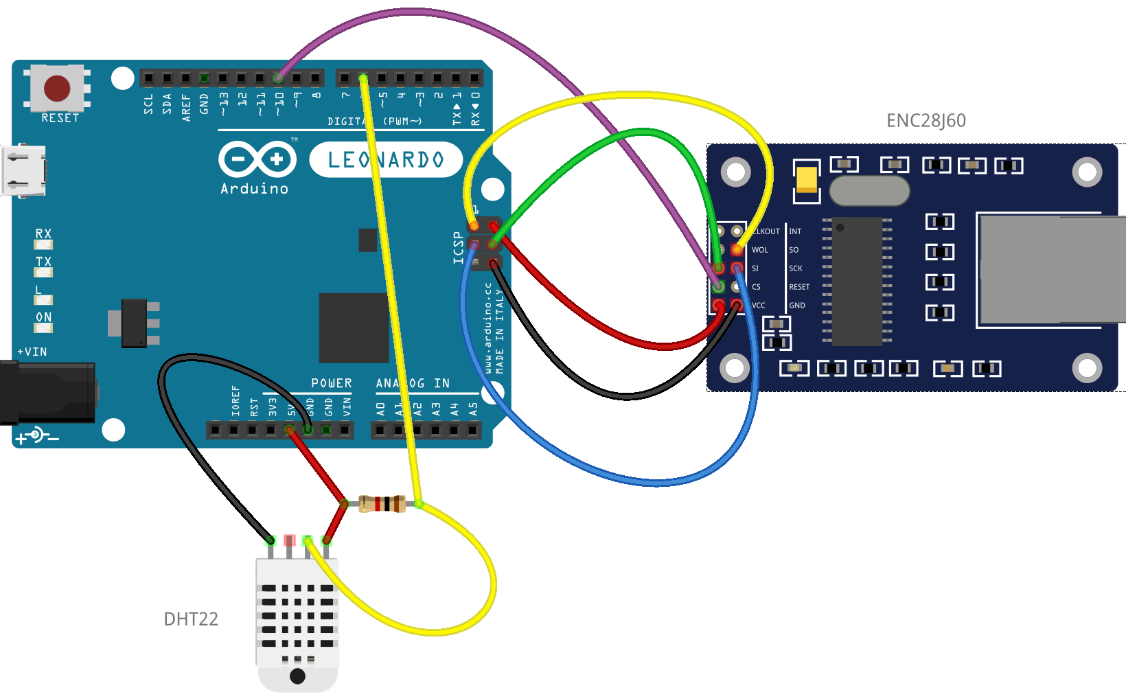 arduino as a web server Overview in the basic-webserver-tutorial we setup a simple web page to display  a single temperature value in this tutorial we are going to use the freetronics.