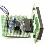 LCD Shift Register Circuit