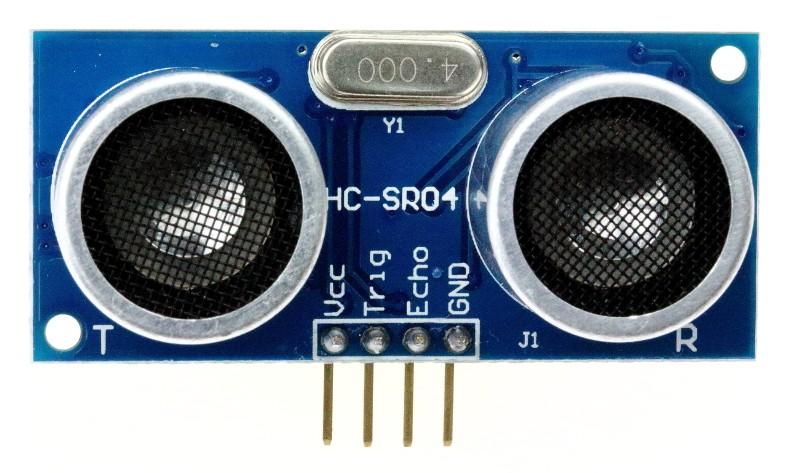 Hc sr distance sensing with an arduino
