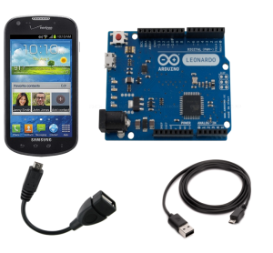 Android to Arduino