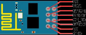 ESP8266 Wiring