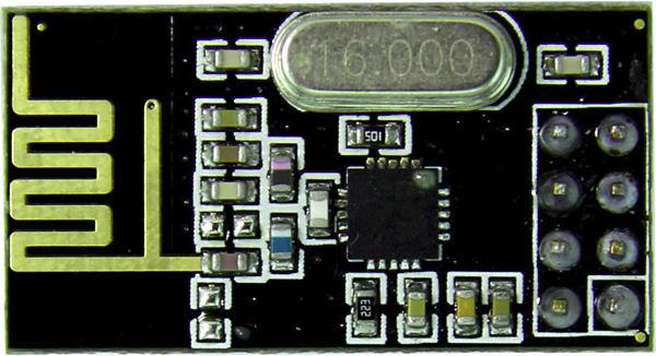 Use An Nrf24l01 Module To Scan The 2 4ghz Frequency Range