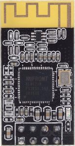 The NL6621 wireless module Front Image