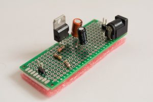 LM317 Circuit Side View