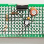 LM317 3.3 V Circuit Top View