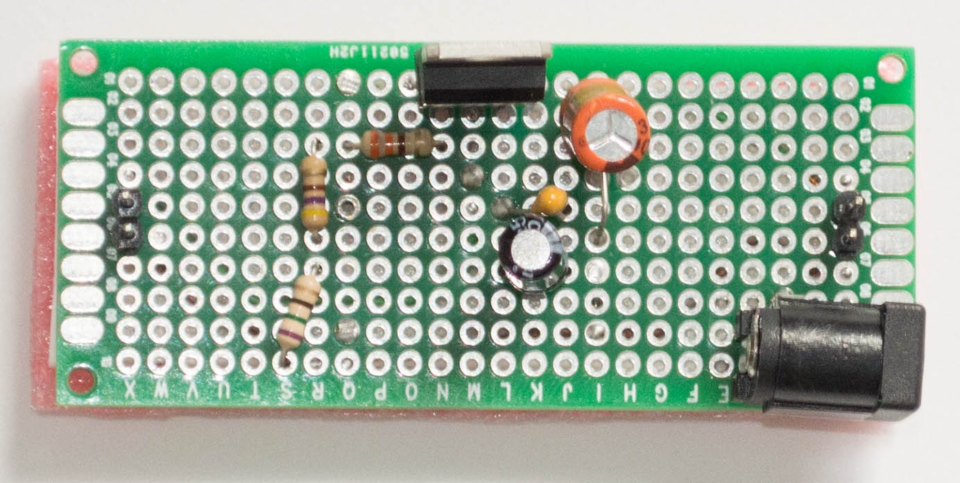 Lm317 To Output 33 Volts Microcontroller Electronics Few Voltage Regulator Circuits V Circuit Top View