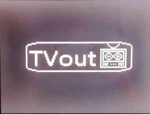 TVOut Output Screen