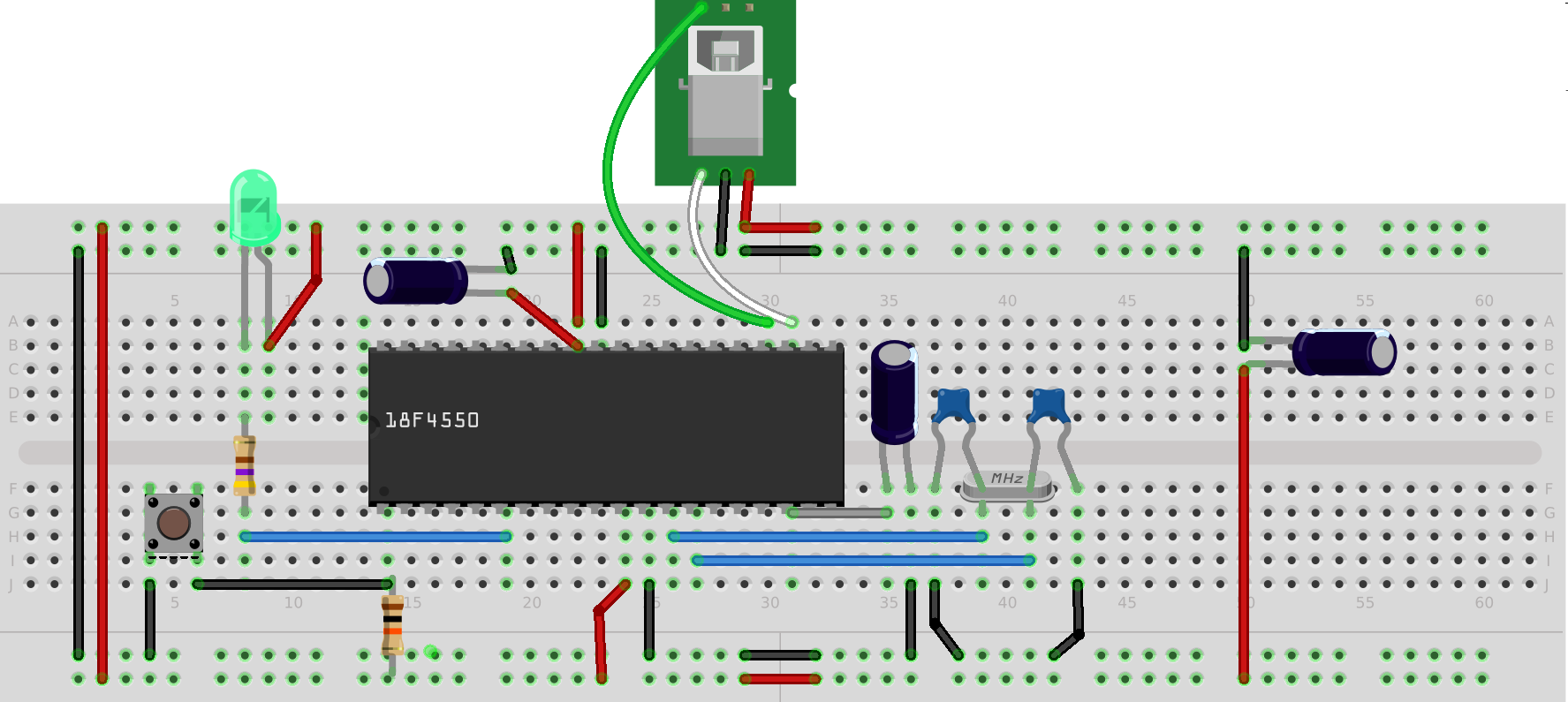 Do it yourself pinguino pic18f4550 board microcontroller electronics do it yourself pinguino pic18f4550 board solutioingenieria Choice Image