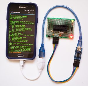 Connecting an Android Phone to an Arduino