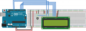 LCD Fritzing Hookup Diagram