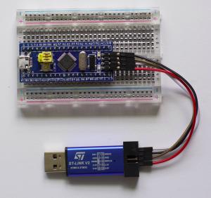 STM32F103C8T6 with ST-LINK V2