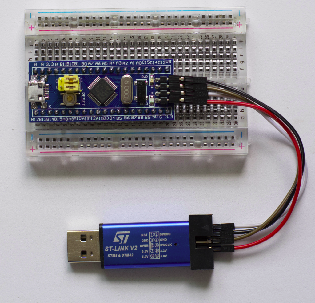 How to convert an STM32F103C8T6 into a Black Magic Probe