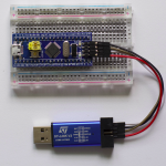 STM32F103C8T6 with ST-LINK V2