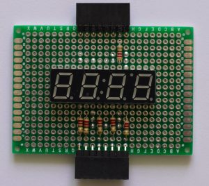 4 Character 7 Segment Display