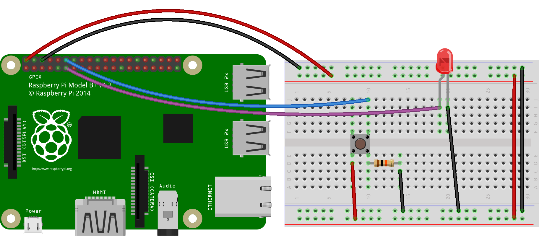 Push a Button and Play a Video - MicroController Electronics