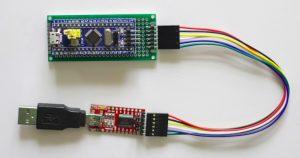 STM32F103C8T6 DIY Programming Cradle