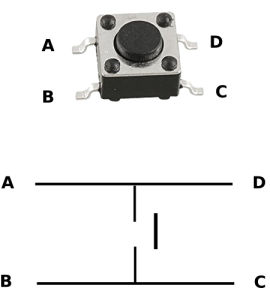 4 Pin Button