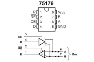 SN75176 RS485 Transceiver